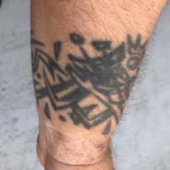 Owen Connell wrist tattoo 3