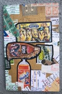 Wayne Cunningham, Untitled, 2014 (back?), collage
