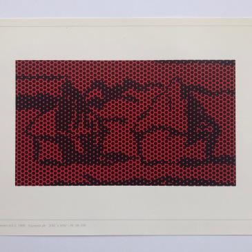 Roy Lichtenstein, Haystack 6, 1969