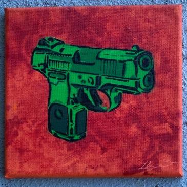 Luke Agnew, Pistol, 2014
